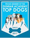 Proud member of the Dunbar Academy Top Dogs Badge