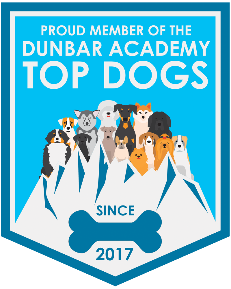 Proud member of the Dunbar Academy Top Dogs Badge