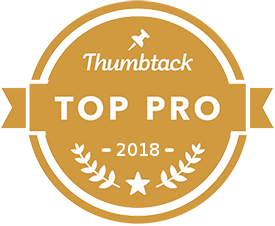 Thumbtack Top Pro 2018 Badge