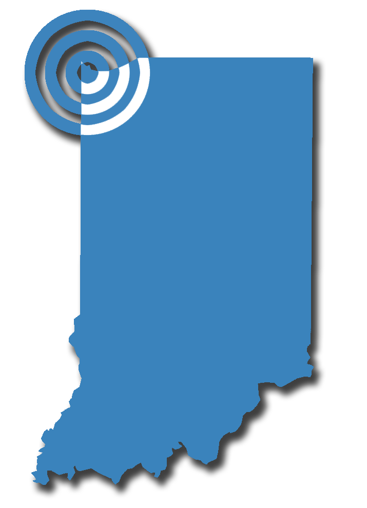 Northwest Indiana service marker